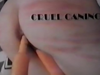 A nice mix of real caning vaginal and anal masturbation with toys.