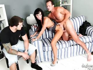 Gina Devine loses control in sexual frenzy