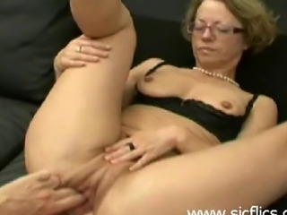 Mature amateur slut is brutally double fisted and ass fucked by two merciless brutes