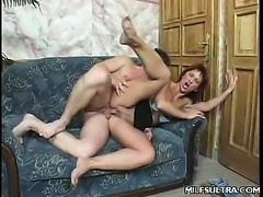 Mature MILF Cock Drilled