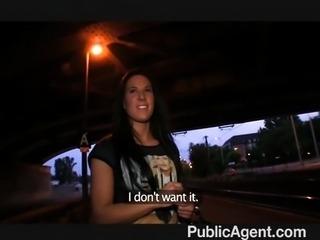 PublicAgent  - Mindblowing blowjob and sex