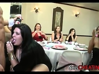 Bridal Shower Goes Bonkers With Male Strippers