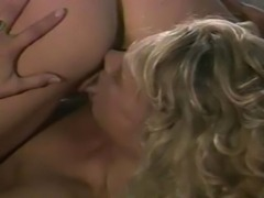Classic lesbo action in a forrest.