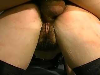 Hairy brunette gets the roughest treatment of her life with lots of fucking...
