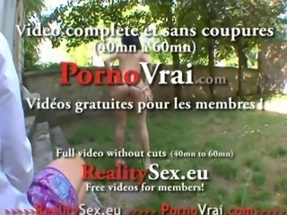 Ass French amateur brunette fucked anal