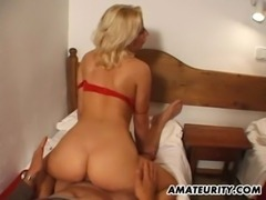 Busty amateur Milf getting fucked with cumshot free