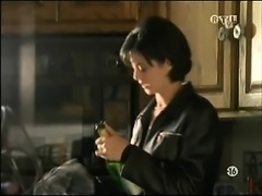 Catherine Bell of JAG fame topless and in a skirt and then