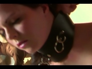 A Dom takes online suggestions as He punishes His model/slave Daisy Duxe!