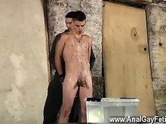 Twinks XXX Poor Leo can't escape as the splendid twink gets