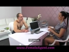 FemaleAgent New MILF agent likes it hard and fast free