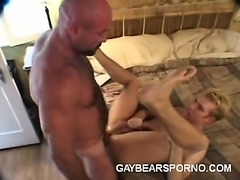 Muscled Gay Bears Having Anal Sex