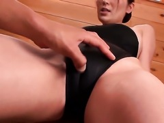 Yuna Shiina satisfies guys sexual desires and then gets her lovely face cum...