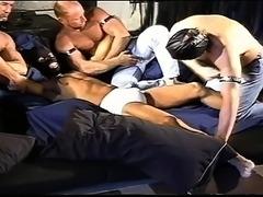 CBT 4 muscle stud ball bashing orgy.