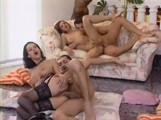 Blondes Orgy Massage
