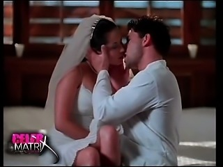 Kimberly Kay first seen in some white wedding dress sitting