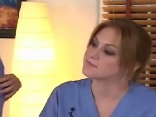 Hot lesbians as nurses talk shop need practice play doctor pussy ass-play switch places.
