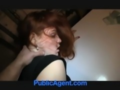 BAC-Cute redhead anal for money free