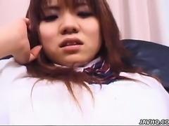 Yuu Aoki is a fucking hot schoolgirl
