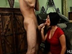 James Deen fucking slut's face