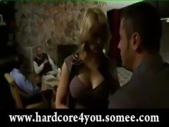 Cheating wife sarah vandella in the restroom with stranger free