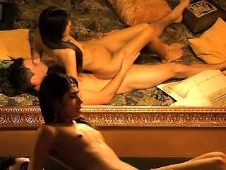 Beautiful Indian rides her partners cock