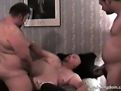 Insane threesome and one horny gay
