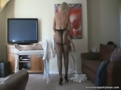 pantyhose massage big ass woman in tights free