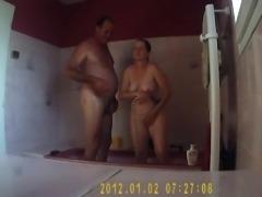 My aunt shower voyeur spycam