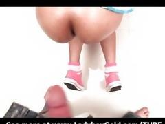Ladyboy Meen Schoolgirl Snack Bareback
