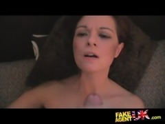 FakeAgentUK Petite cash strapped MILF gives multiple orgasms free