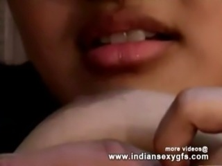 Horny Indian PornStar  Babe as School girl Squeezing Big Boobs and  Babe masturbating Part3 - indian free