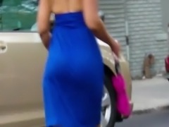 Candid WTF bubbled Jamaican milf booty of NYC free