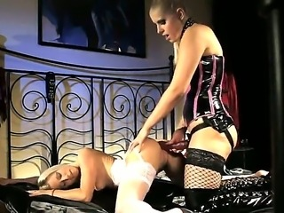 Super hot babes Brandy Smile and Emma in the hardcore fetish scene with a...
