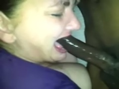 WHITE MILF DEEPTHROATING (SHE IS THE BEST EVER) free