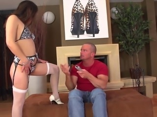 Horny bitch gets nailed hard