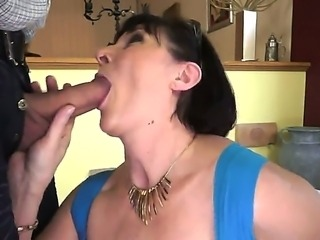 Old but still horny and willing to fuck our favorite granny Margo T. is up to some cock sucking action and missionary fucking, a nice way of remembering the good old days.