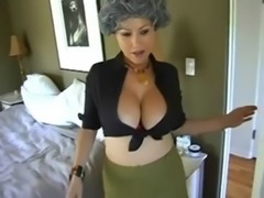Caught by milf and helped free