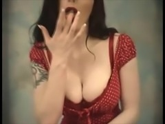 Retro stripper - vintage style striptease