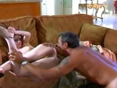Petite Stripper Ass Fucked and Creampied