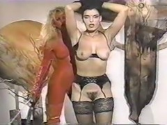 Hot Brunette Threesome Fuck 1990s Classic