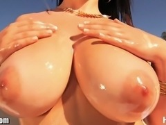 Busty bombshell Noelle Easton is gets STACKED! Must see this nasty clip! She...