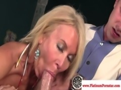Erica Lauren gets mouthful of cum free