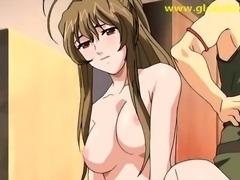 TTeenage Hentai babei gets fucked hard