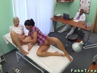 Nurse and doctor fucking a patient