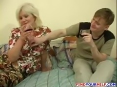 MILF seduced by young man free