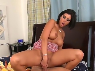 Hardcore action as these two finish their affair with one last fuck. Staring Dylan Ryder and Johnny Castle. She looks hot and horny as she bends over and sucks on his big hard cock. just watch those big tits juggle up and down. Great cum shot.