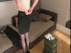 Busty pale blonde amateur fucked in casting free