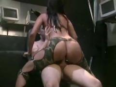 Nikita Denise In Army Camouflage Anal free