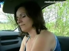 Cheating milf Deepthroating me in my car free