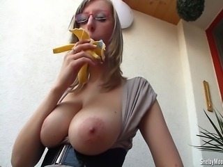 Shelby Moon has quite good licking skills, just imagine your hard cock...